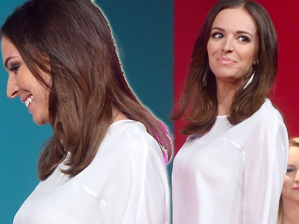 Ania Wendzikowska w ciąży