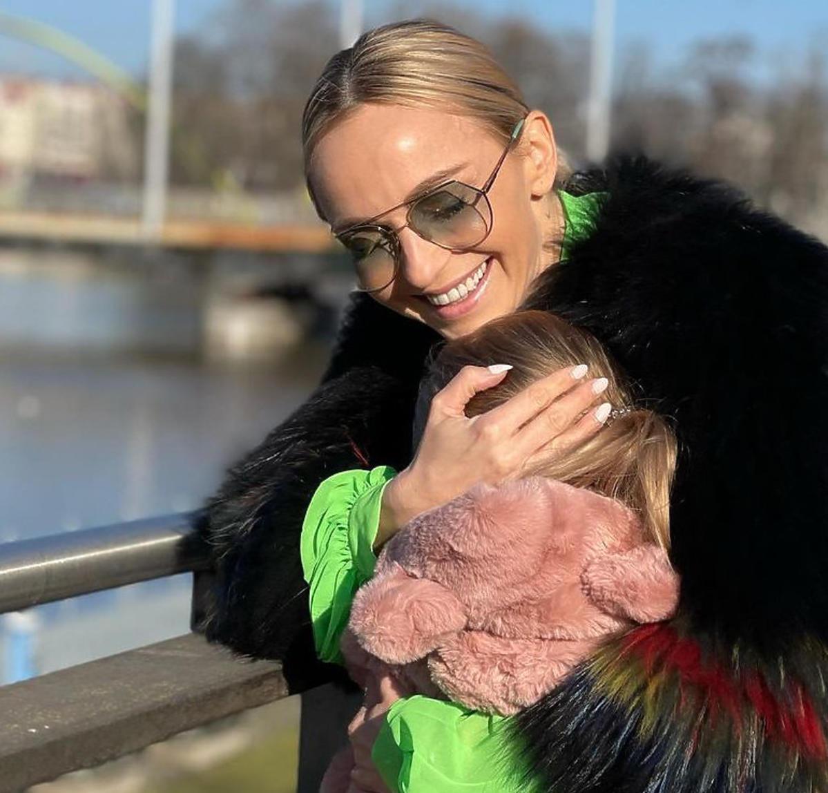 Ania Wyszkoni kupiła córce lody EKIPA