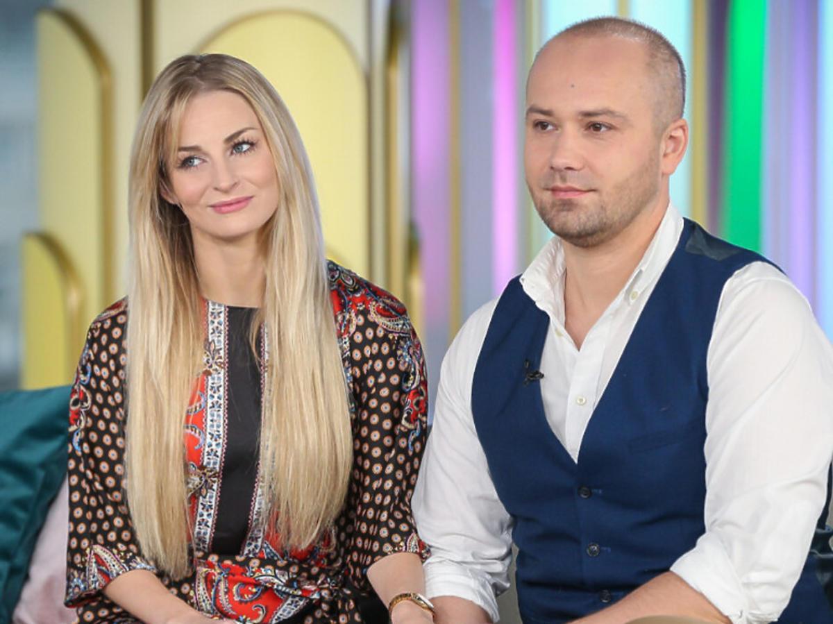 """Anita i Adrian ze """"Ślubu od pierwszego wejrzenia"""" w Dzień Dobry TVN"""