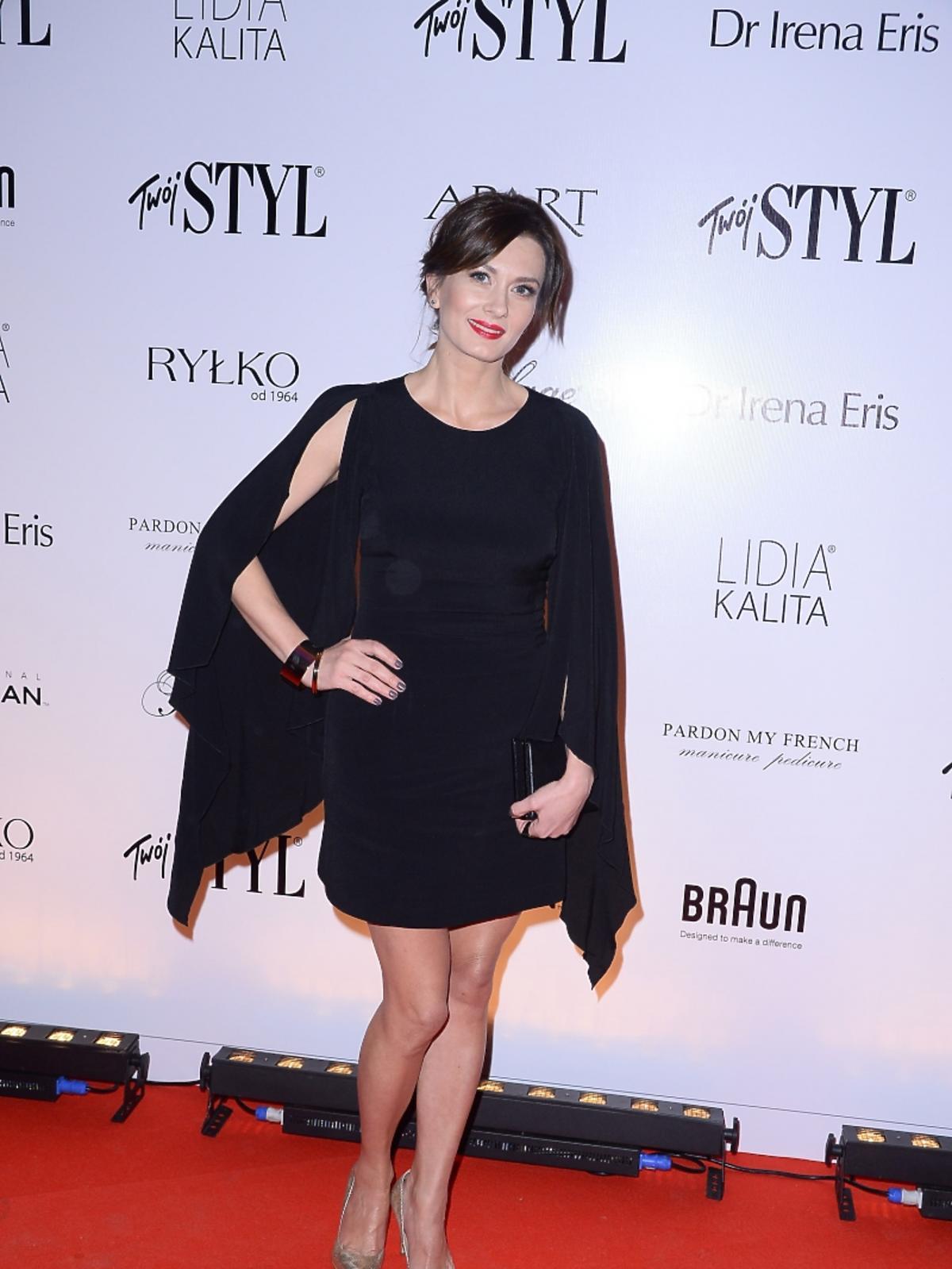 Anita Sokołowska na imprezie Doskonałość Mody Twojego Stylu