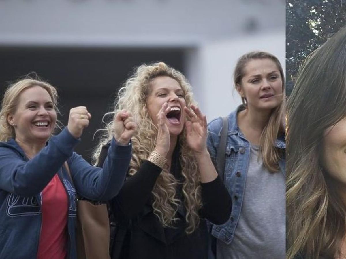 "Anita Sokołowska o przyjaźni na planie ""Przyjaciółek"""