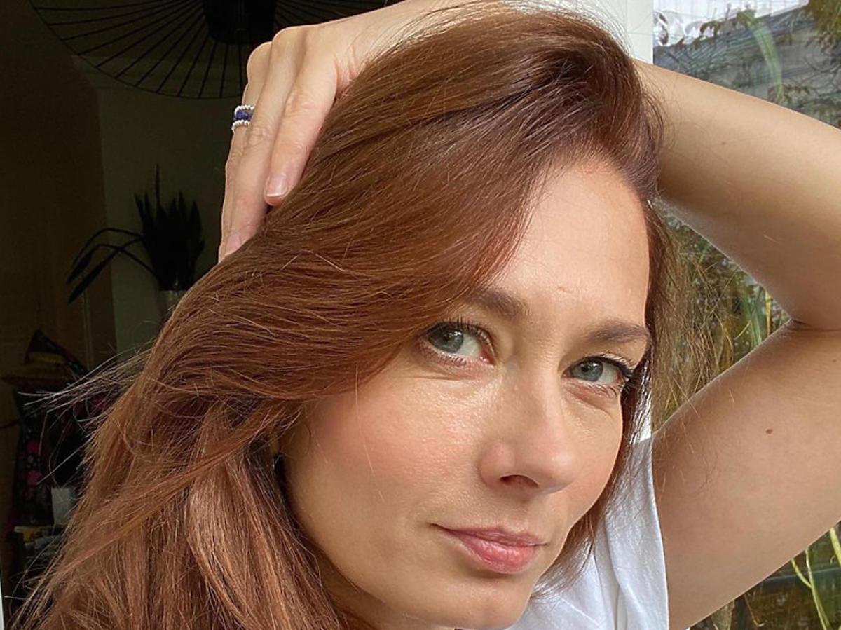 Anita Sokołowska w nowym kolorze włosów