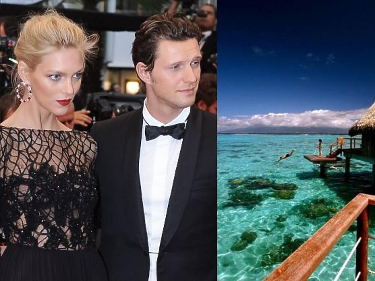 Anja Rubik i Sasha Knezevic wakacje spędzą na Tahiti