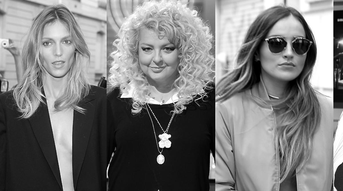 Anja Rubik, Magda Gessler, Marina Łuczenko, Krystyna Janda