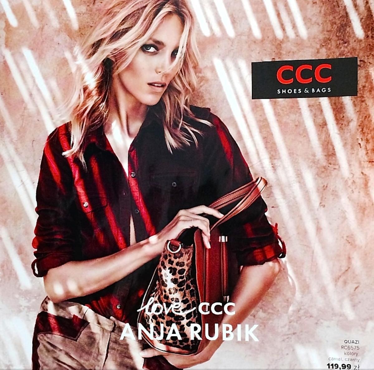 Anja Rubik twarzą CCC