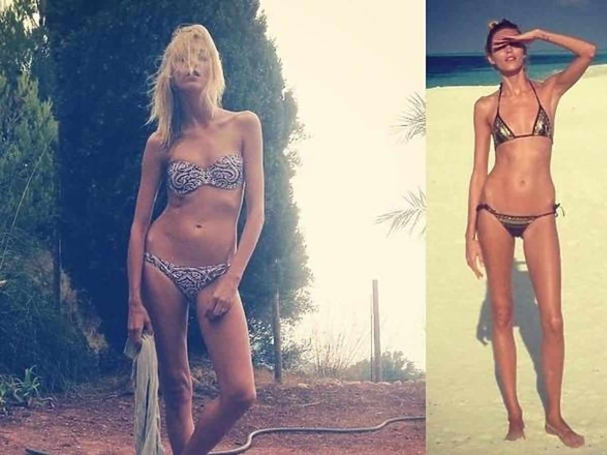 Anja Rubik w bikini