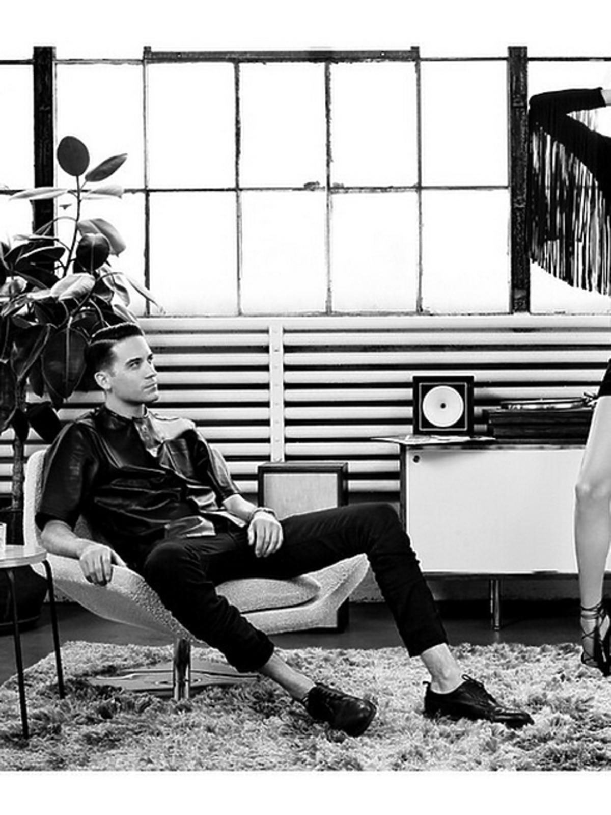 Anja Rubik w kampanii marki odzieżowej Justina Timberlake'a na Instagramie