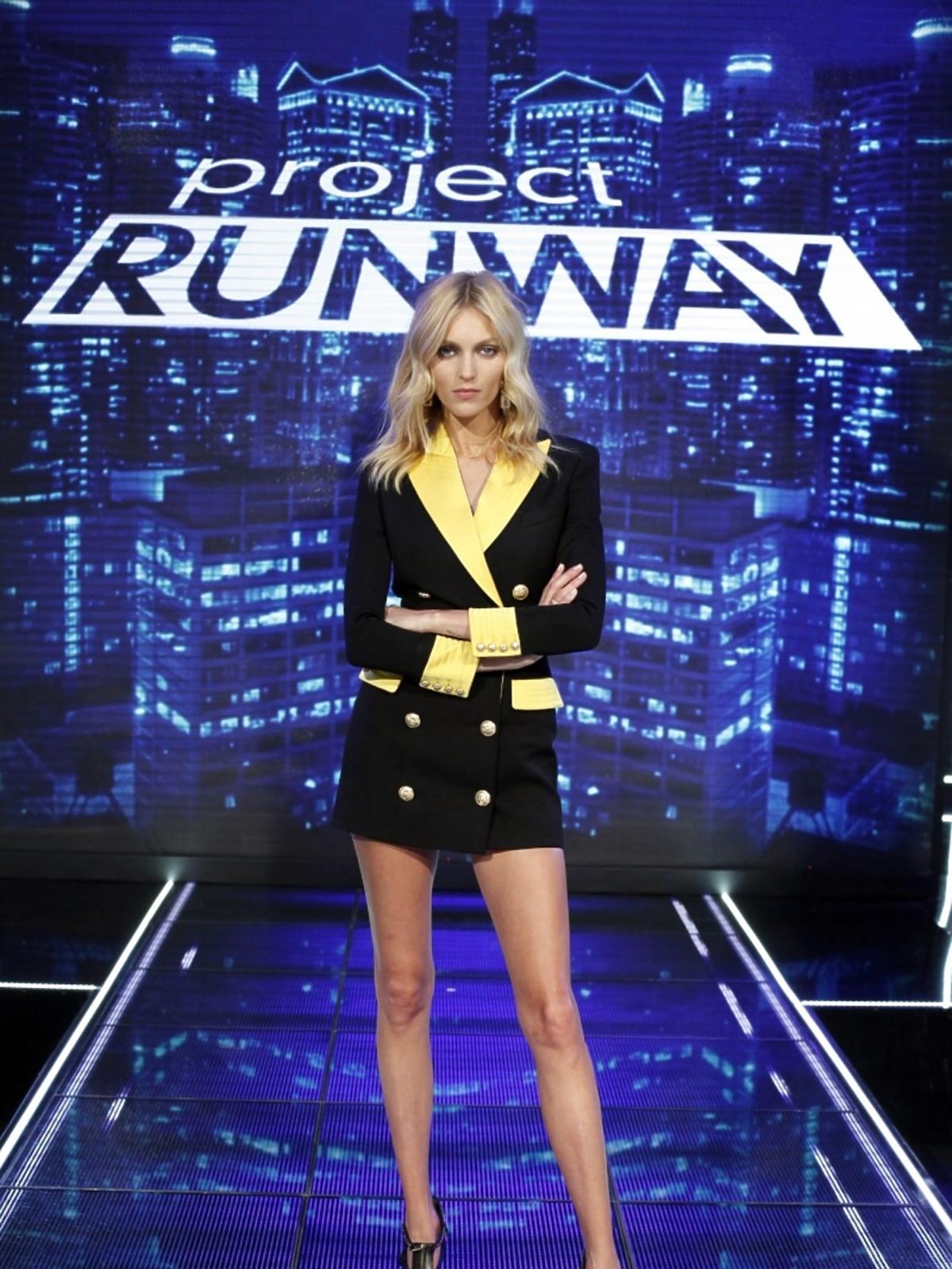 Anja Rubik w trzecim odcinku Project Runway