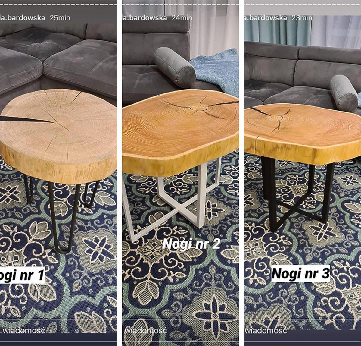 Anna Bardowska pokazała stoły do nowego domu