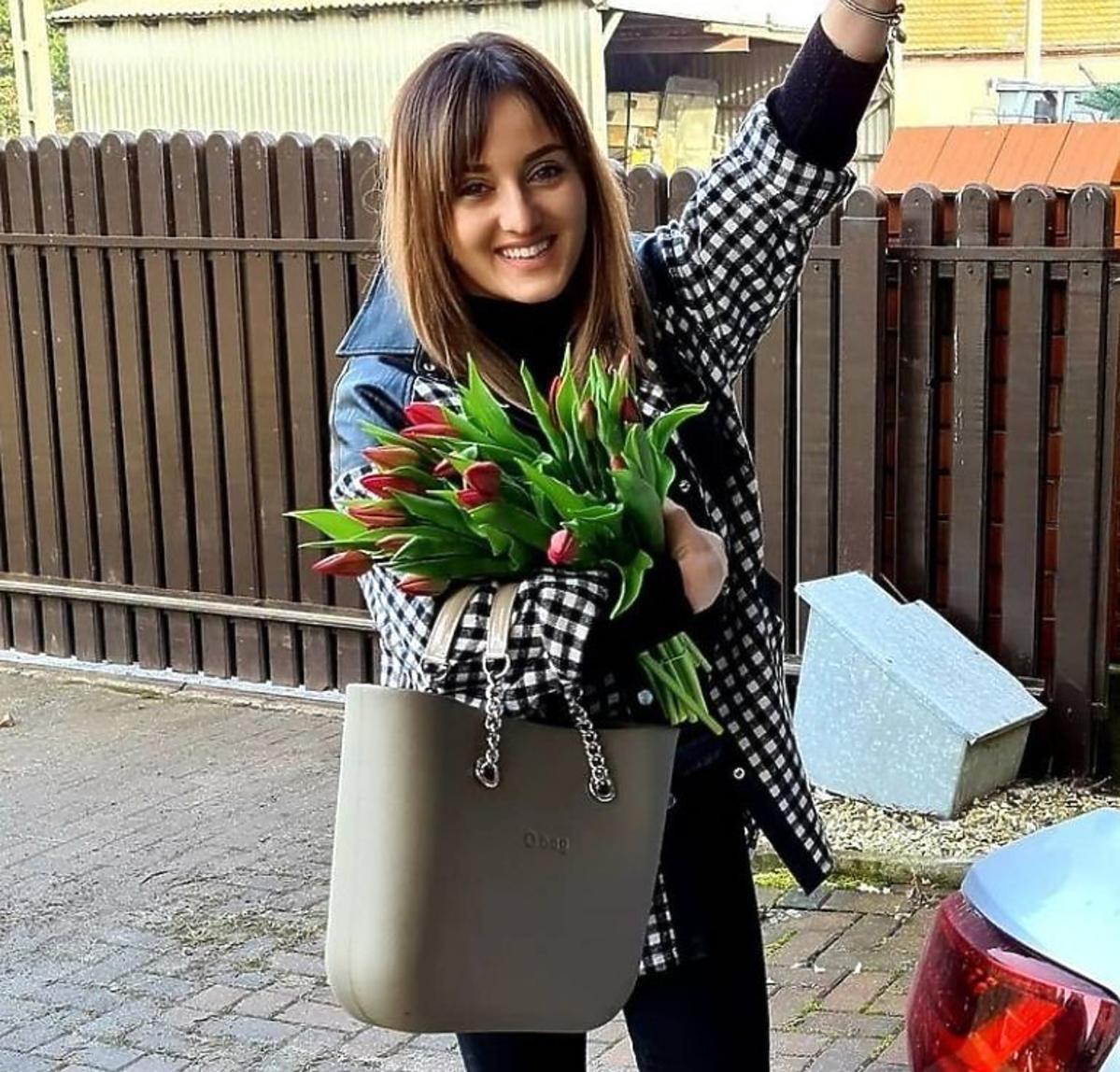 Anna Bardowska z hitową torbą O bag