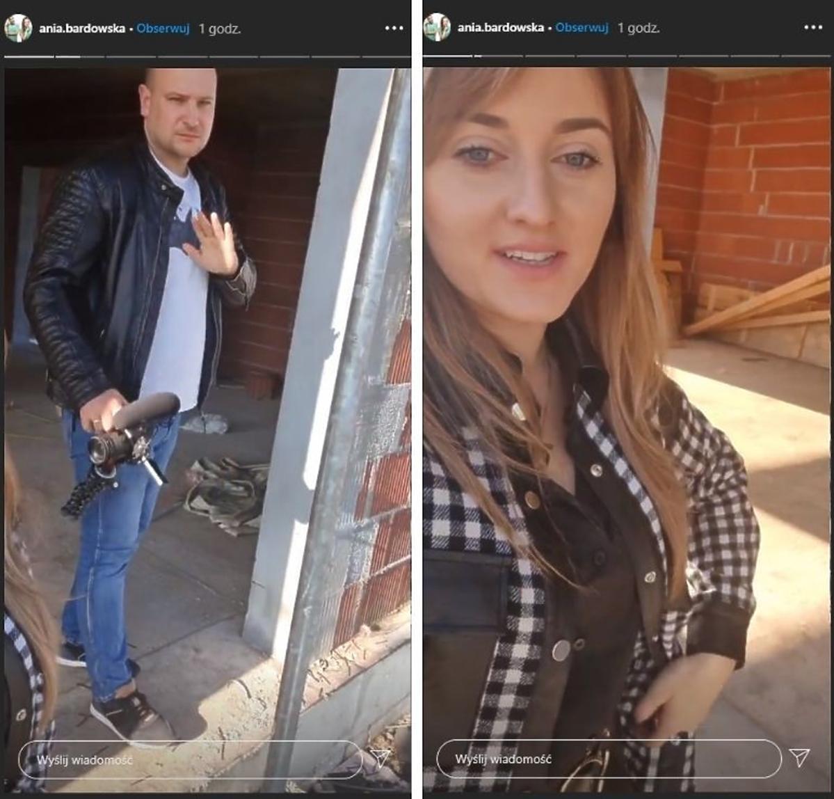 Anna Bardowska z Rolnik szuka żony na budowie domu