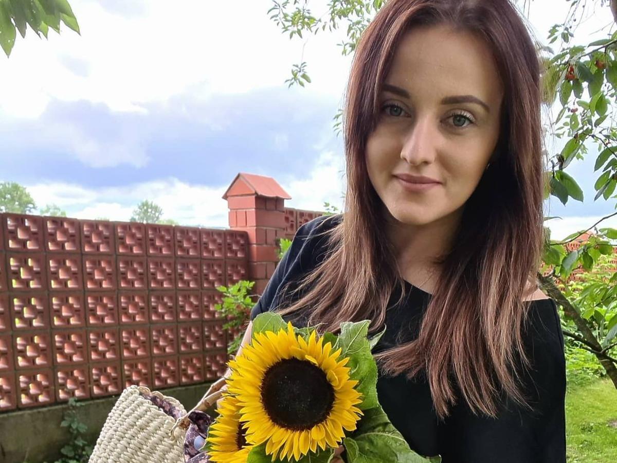 Anna Bardowska  z Rolnik szuka żony zmieniła kolor włosów