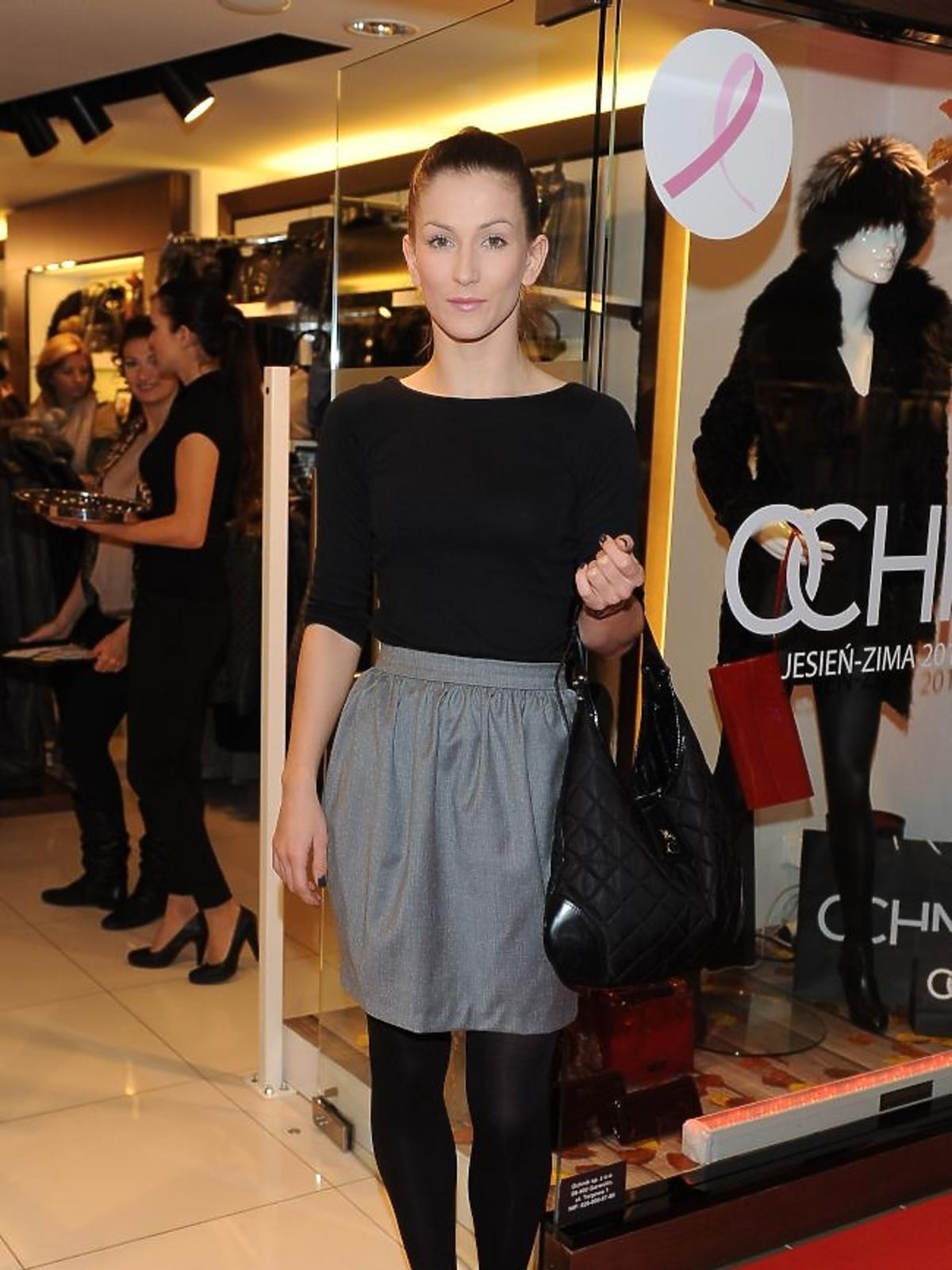 Anna Bosak na jesiennych zakupach w salonie Ochnik