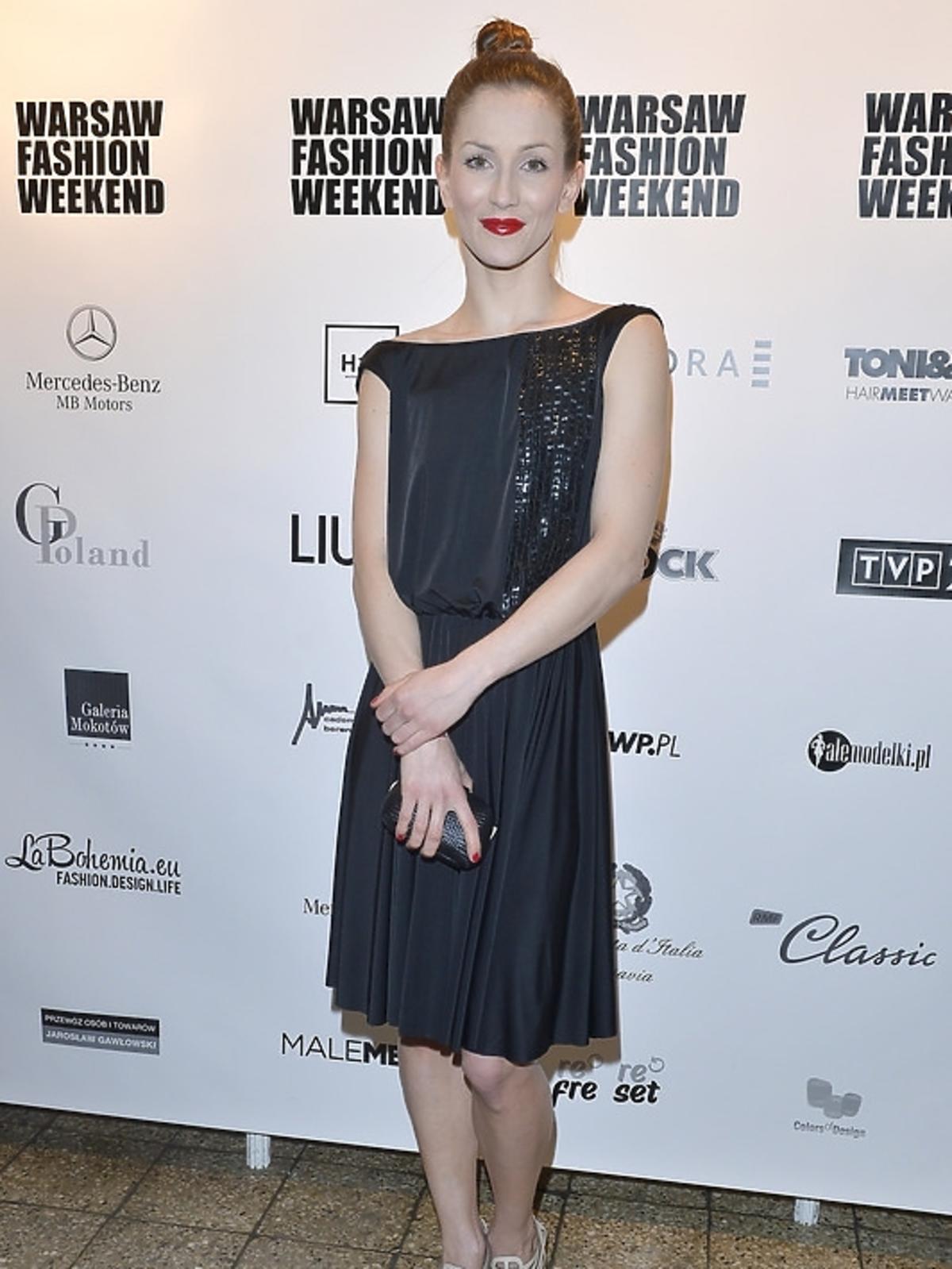 Anna Bosak na Warsaw Fashion Weekend