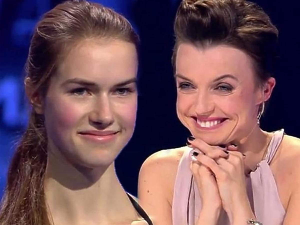 Anna Cybulska w Top Model