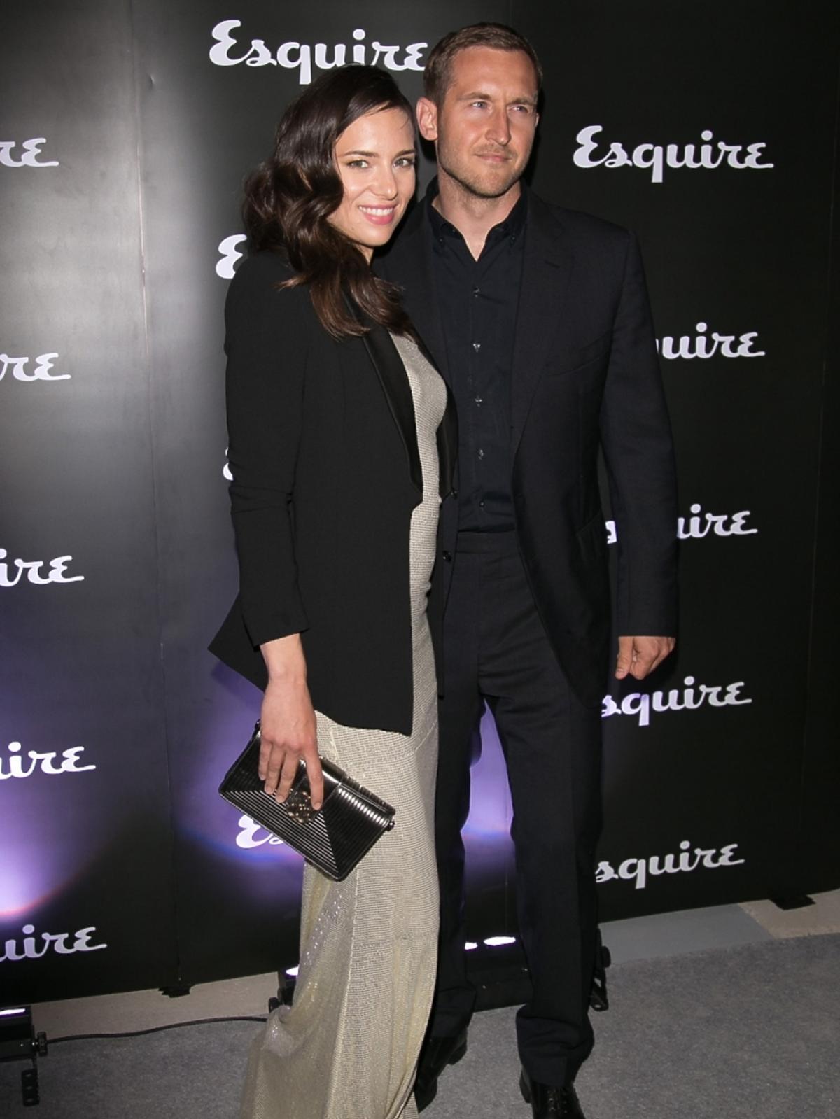 Anna Czartoryska i Michał Niemczycki na imprezie magazynu Esquire