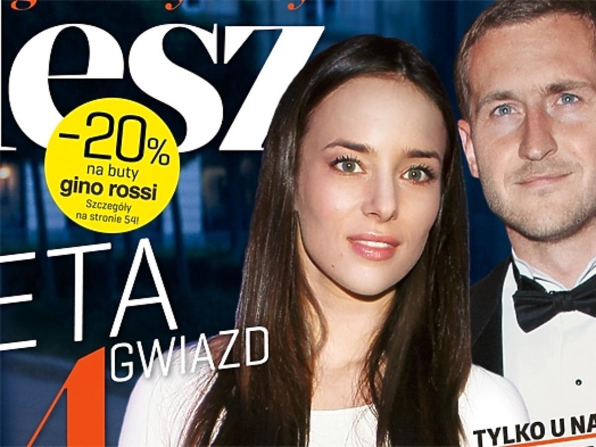 Anna Czartoryska i Michał Niemczycki na okładce Flesza