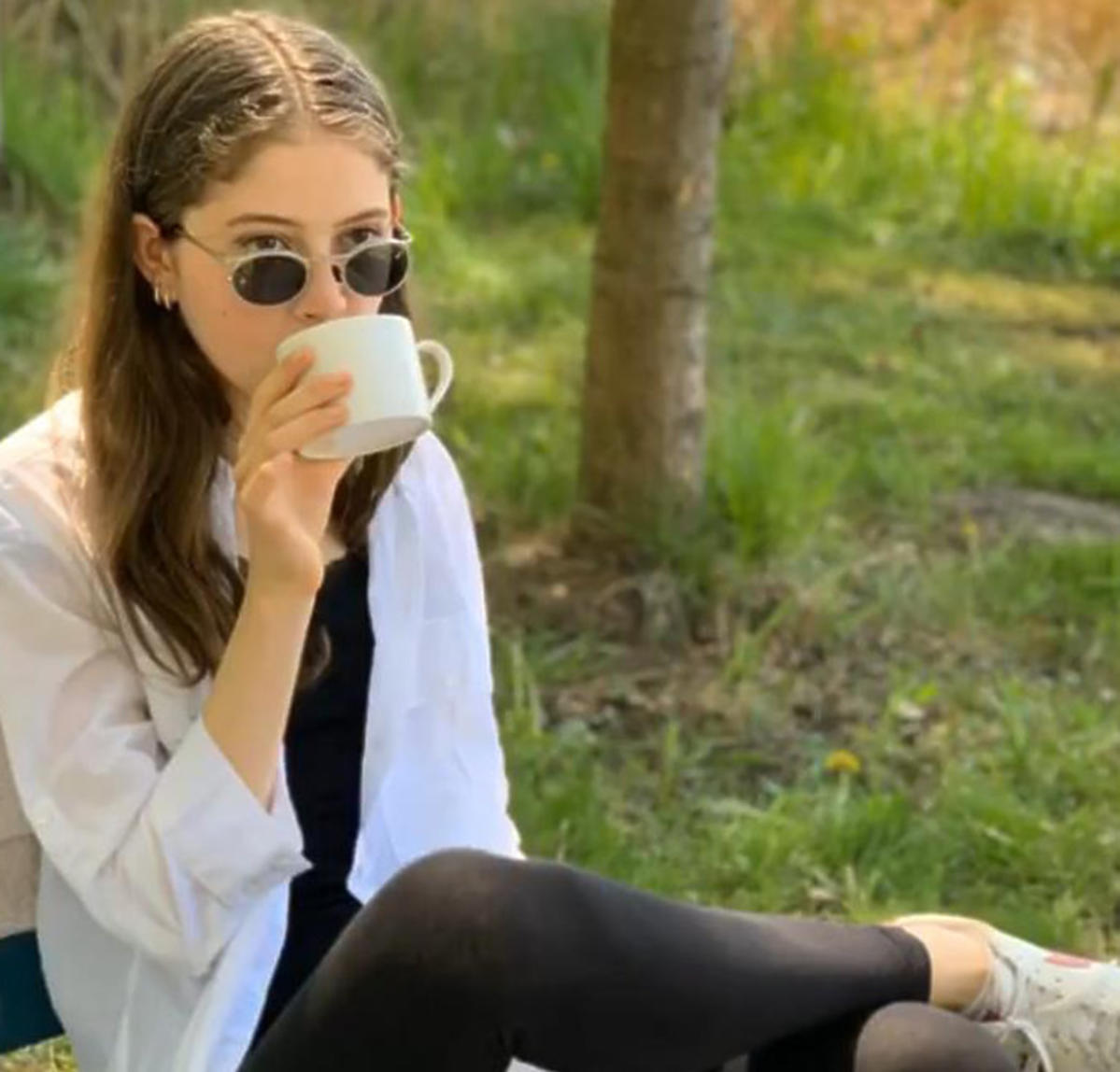 Anna Dąbrówka, córka Natalii Kukulskiej