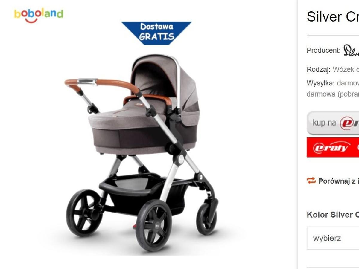 Anna Dec  pokazała wózek dziecka