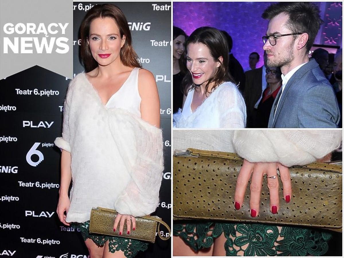 Anna Dereszowska się zaręczyła - pierścionek zaręczynowy
