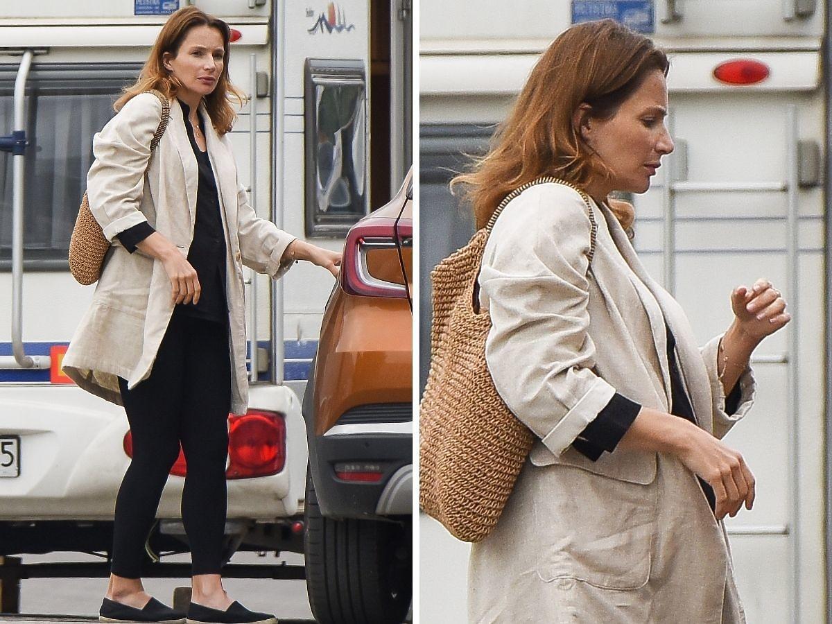 Anna Dereszowska w ciąży zdjęcia paparazzi