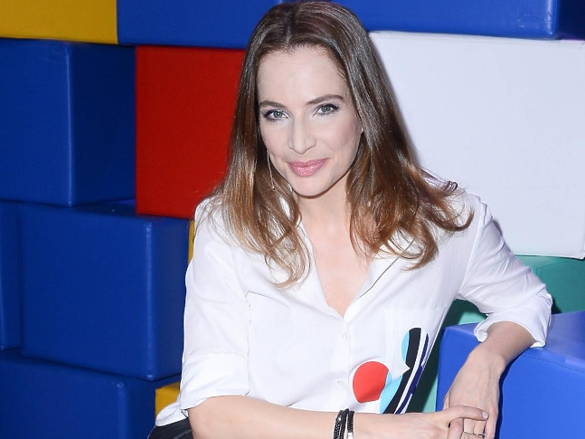 Anna Dereszowska w programie Mali Giganci