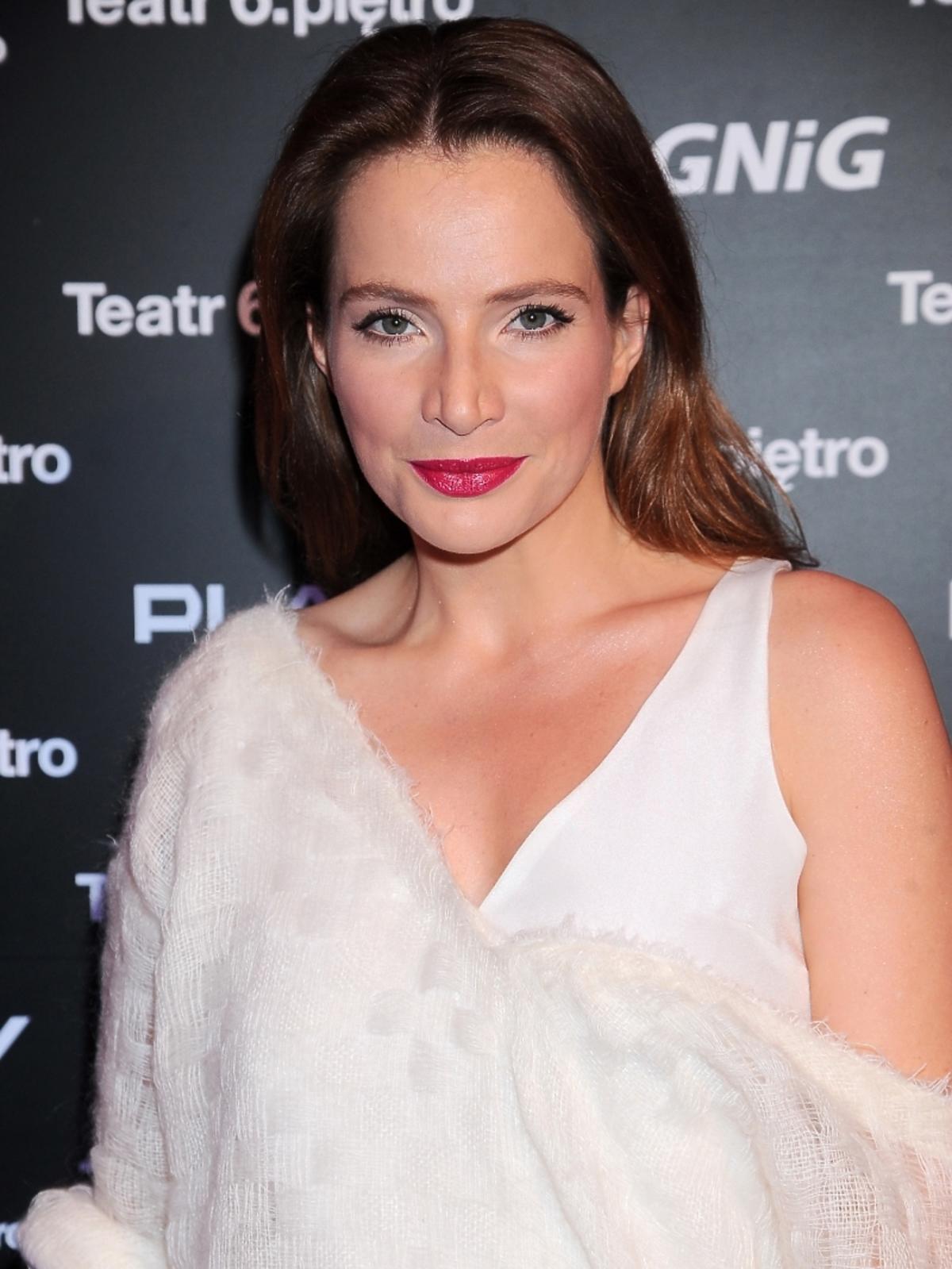 Anna Dereszowska w seksownej stylizacji