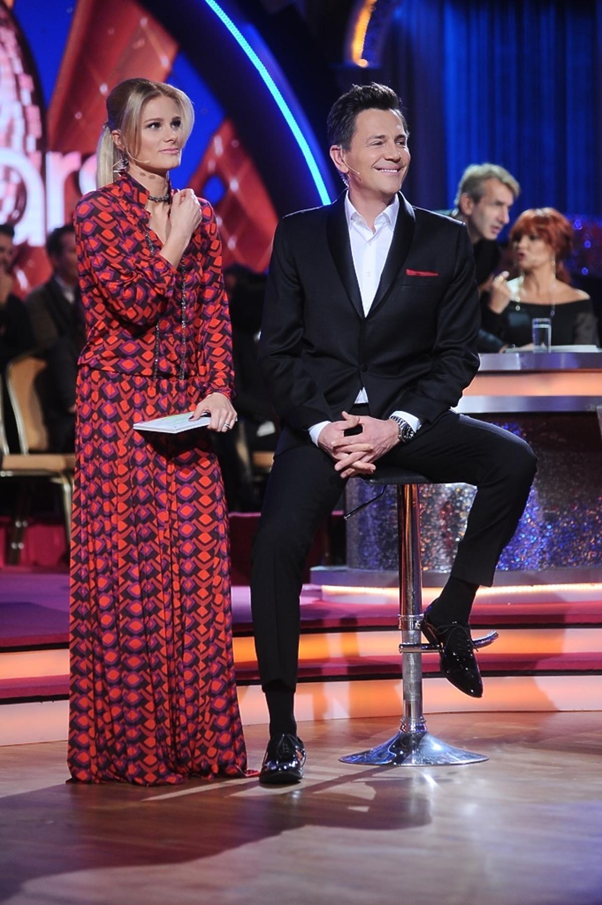 Anna Głogowska i Krzysztof Ibisz