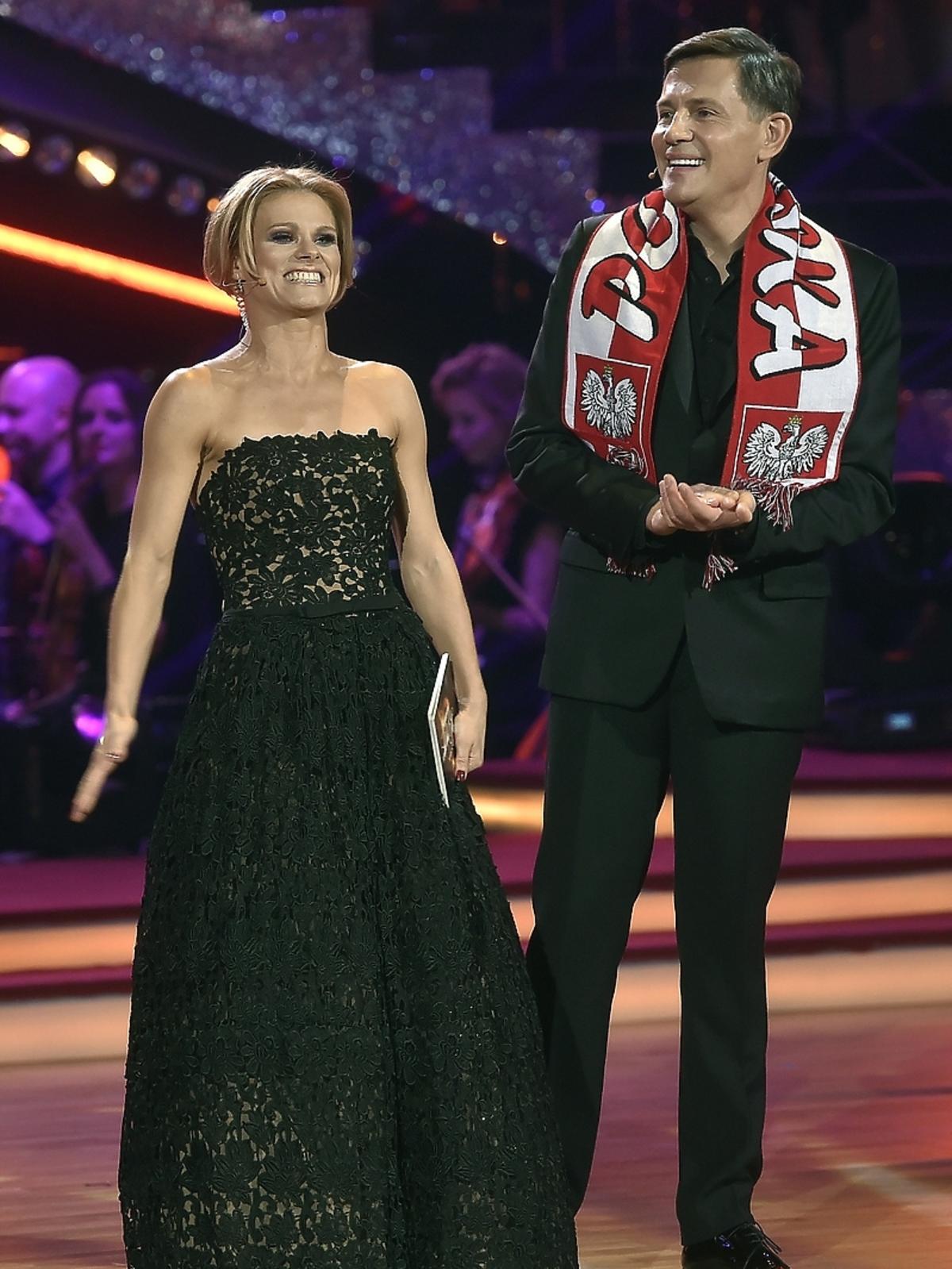 Anna Głogowska i Krzysztof Ibisz w finale Tańca z Gwiazdami