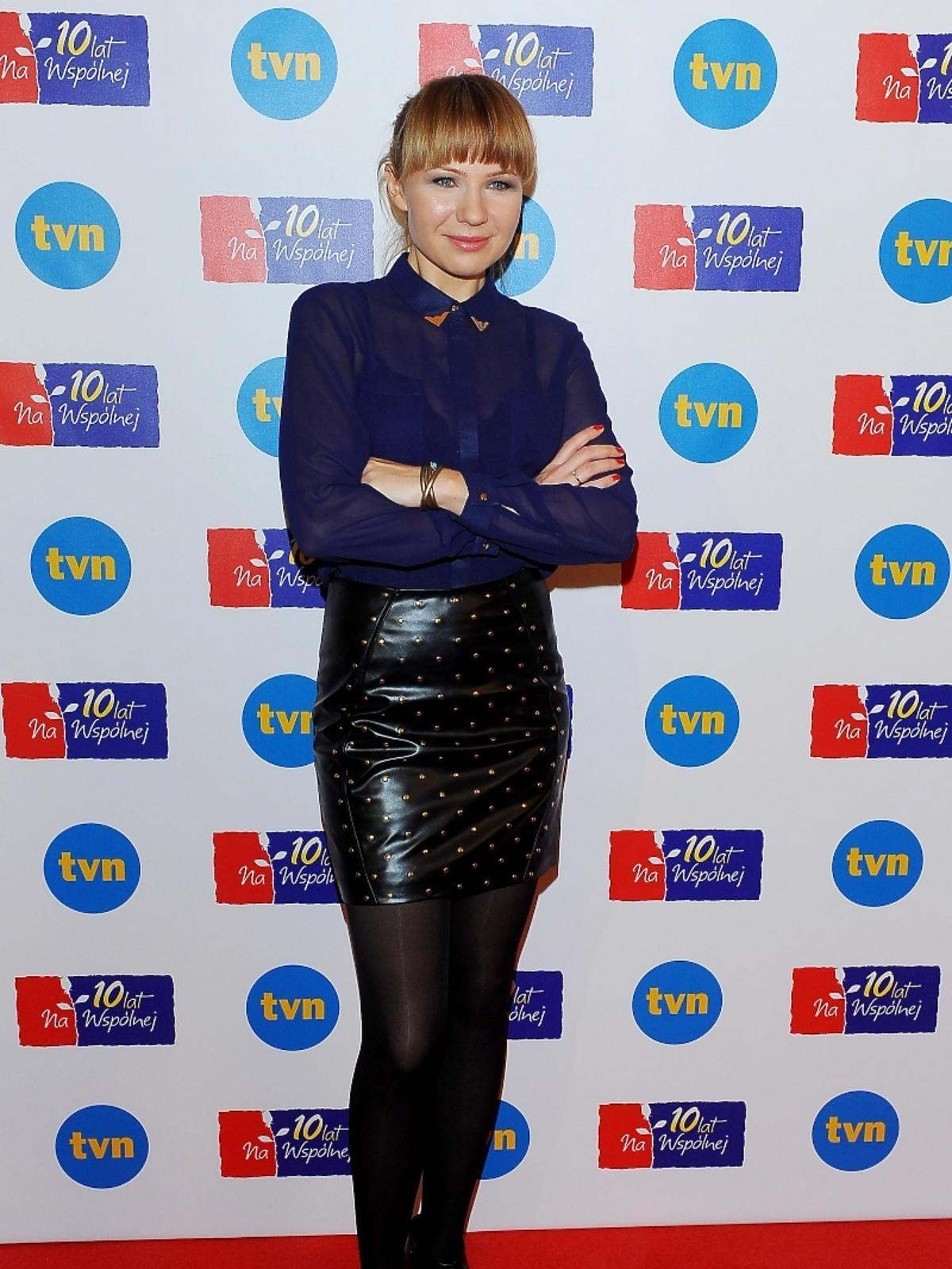 Anna Guzik na 10-leciu serialu
