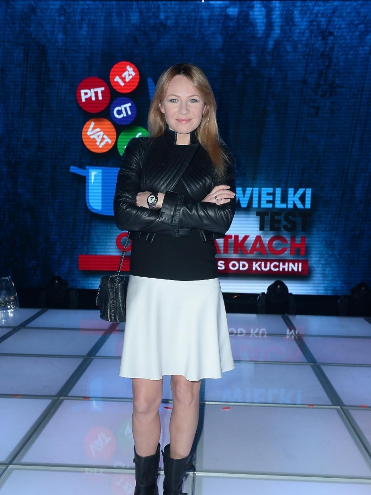 Anna Guzik na Wielkim Teście TVP