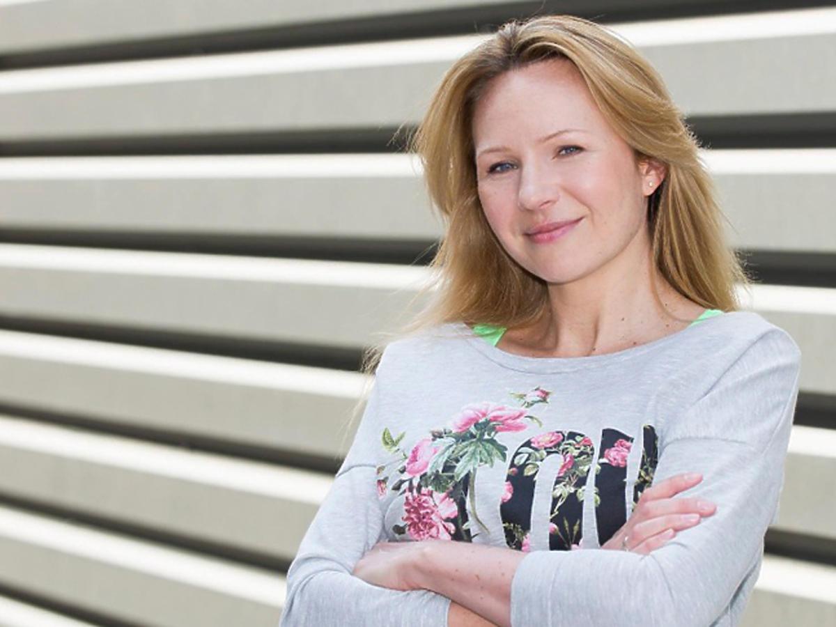 Anna Guzik po porodzie