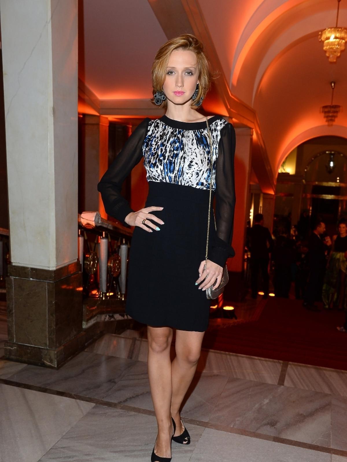 Anna Gzyra na imprezie Flesz Fashion Night
