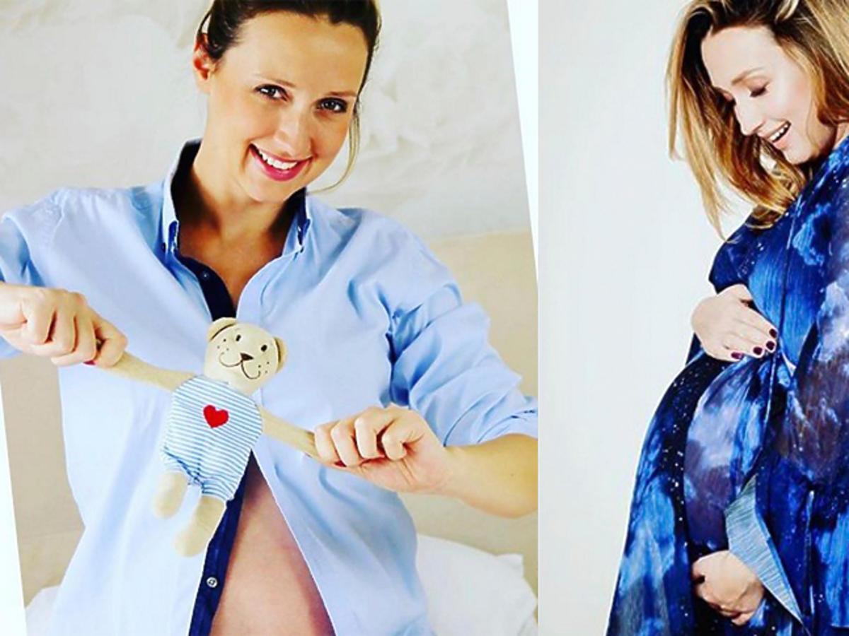 Anna Gzyra pokazała rączkę syna