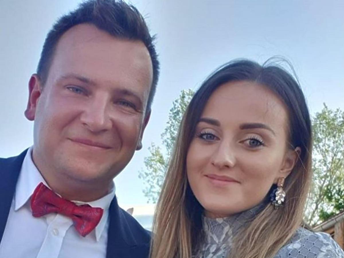 Anna i Grzegorz Bardowscy na weselu
