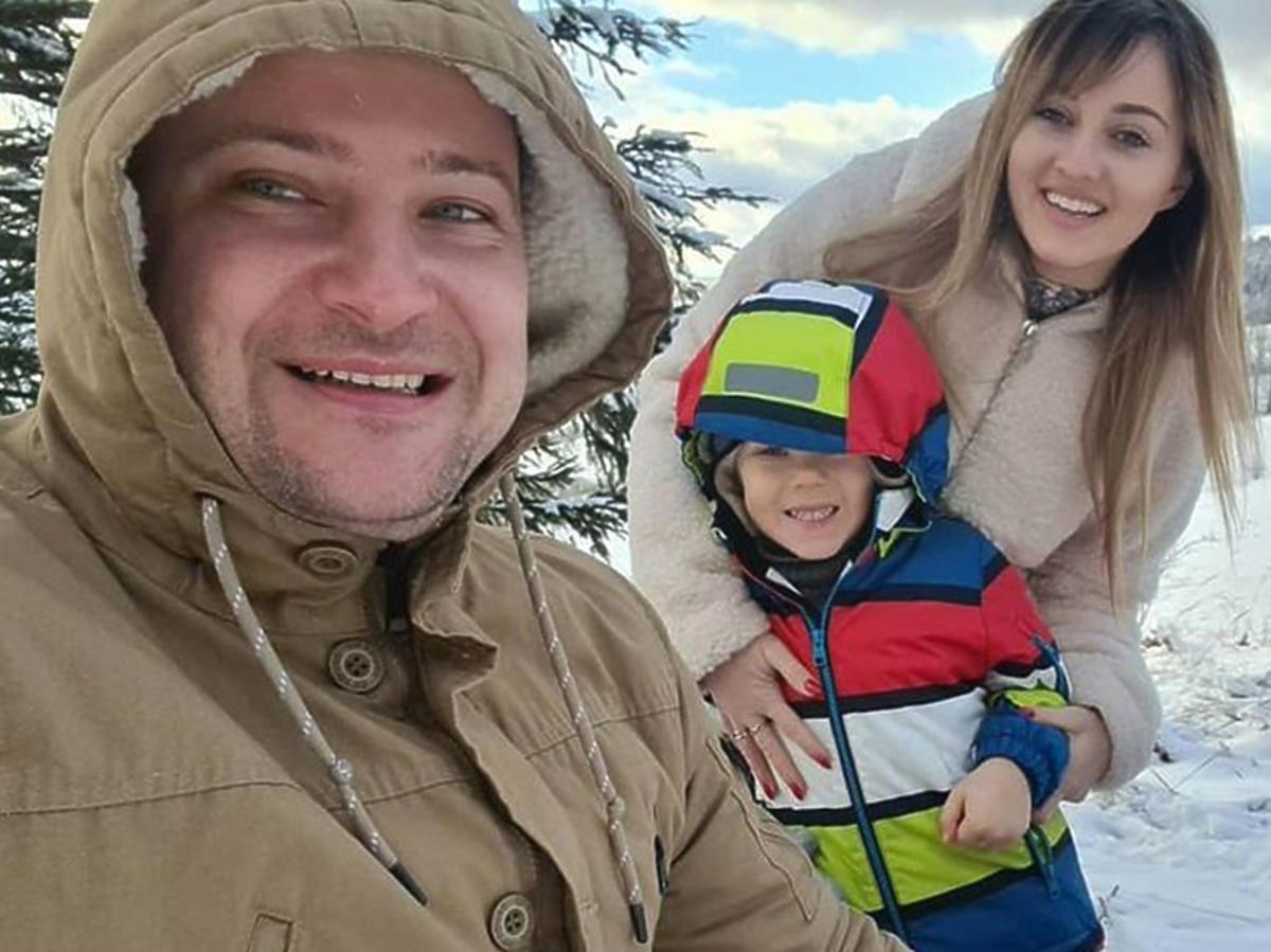 Anna i Grzegorz Bardowscy w górach