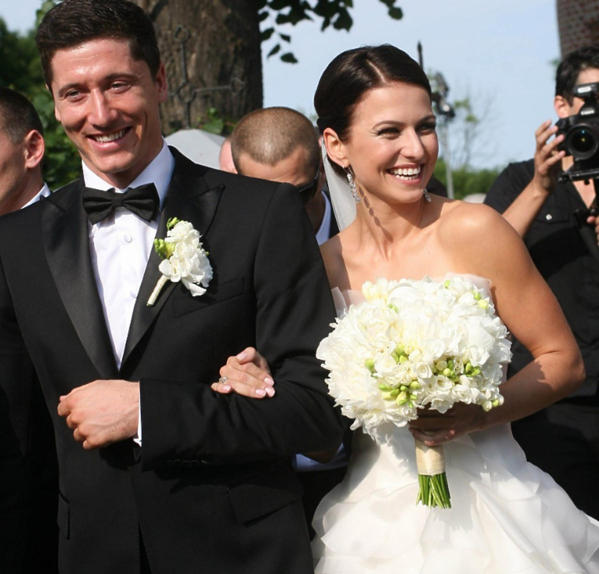 Anna i Robert Lewandowscy ślub