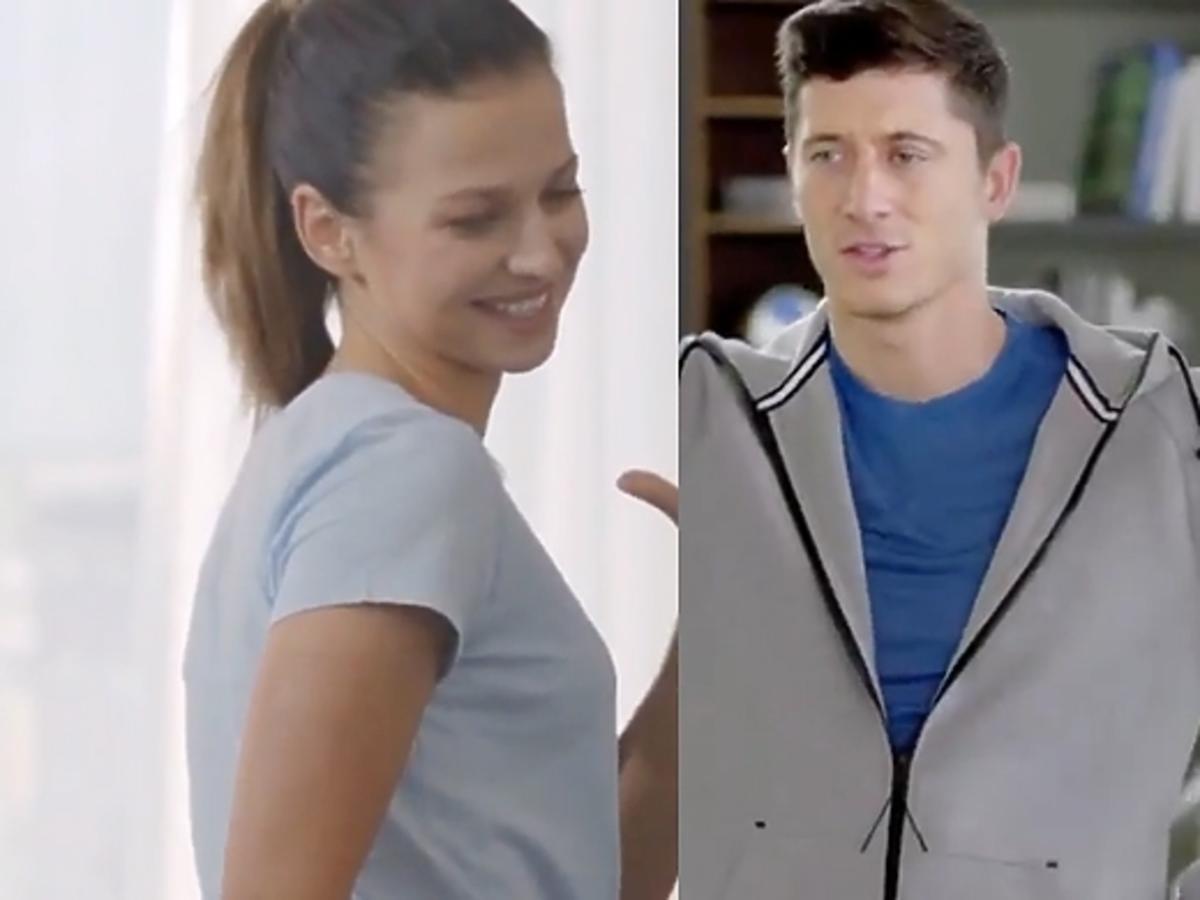 Anna i Robert Lewandowscy w reklamie T-Mobile