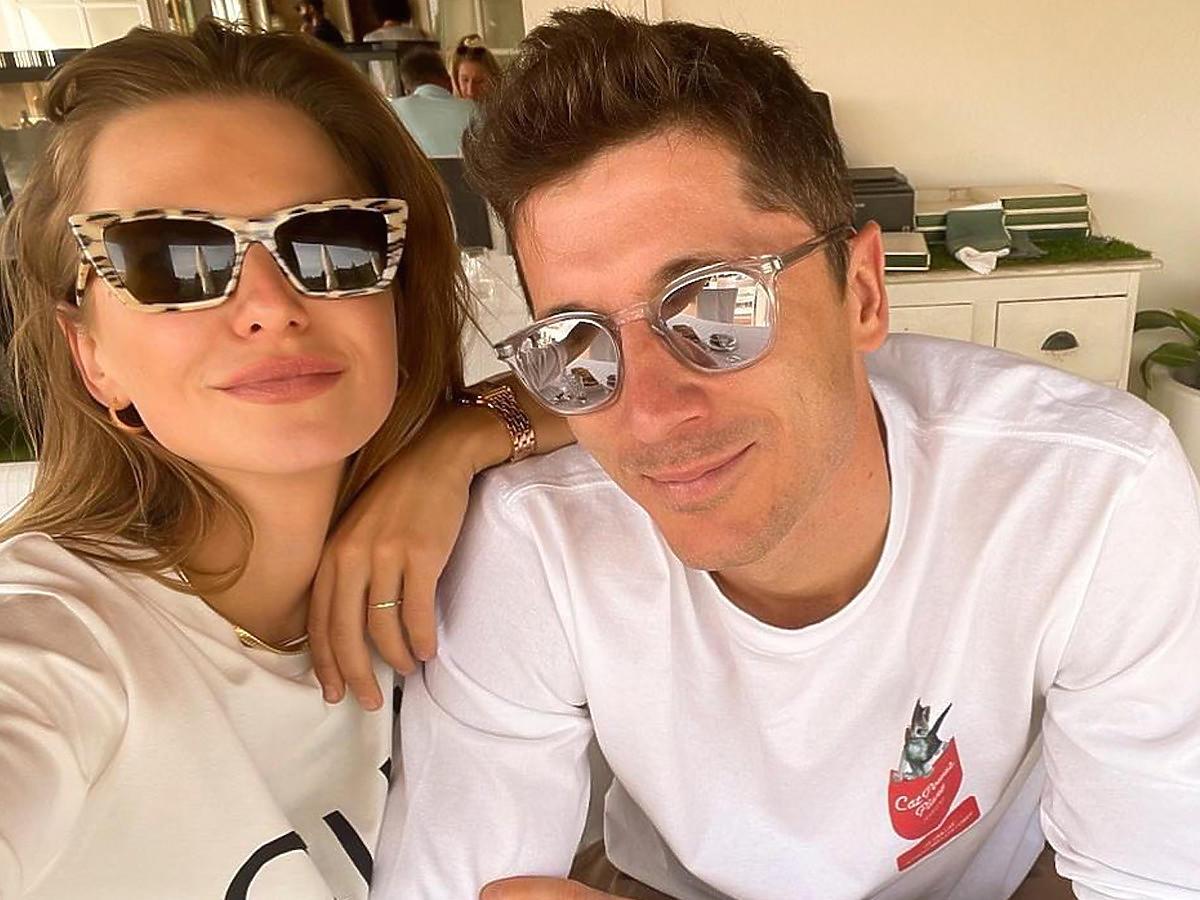 Anna i Robert Lewandowscy, zdjęcie z Instagrama