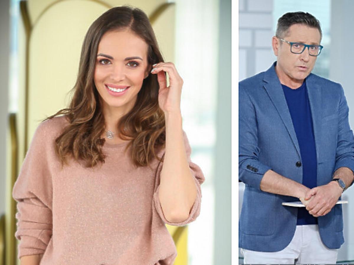 Anna Kalczyńska, Andrzej Sołtysik i Anna Kalczyńska w Dzień Dobry TVN