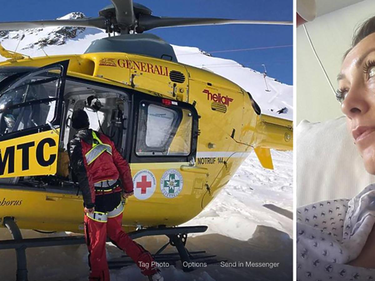 Anna Kalczyńska miała wypadek w Tyrolu - na Facebooku pokazała zdjęcia