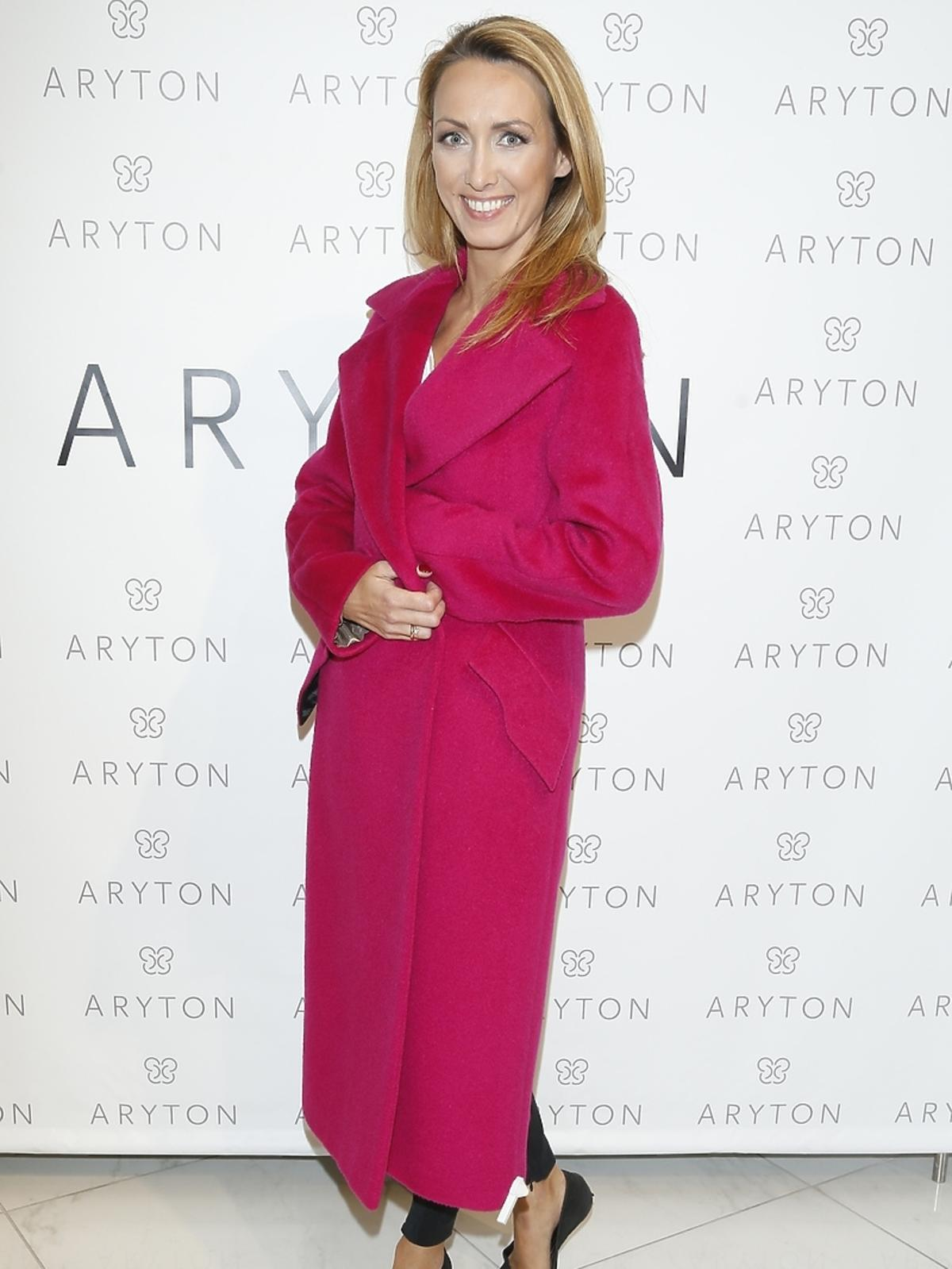Anna Kalczyńska na pokazie nowej kolekcji marki Aryton