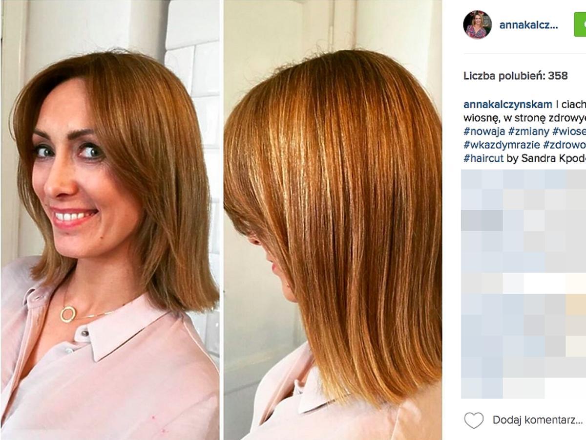 Anna Kalczyńska ścięła włosy