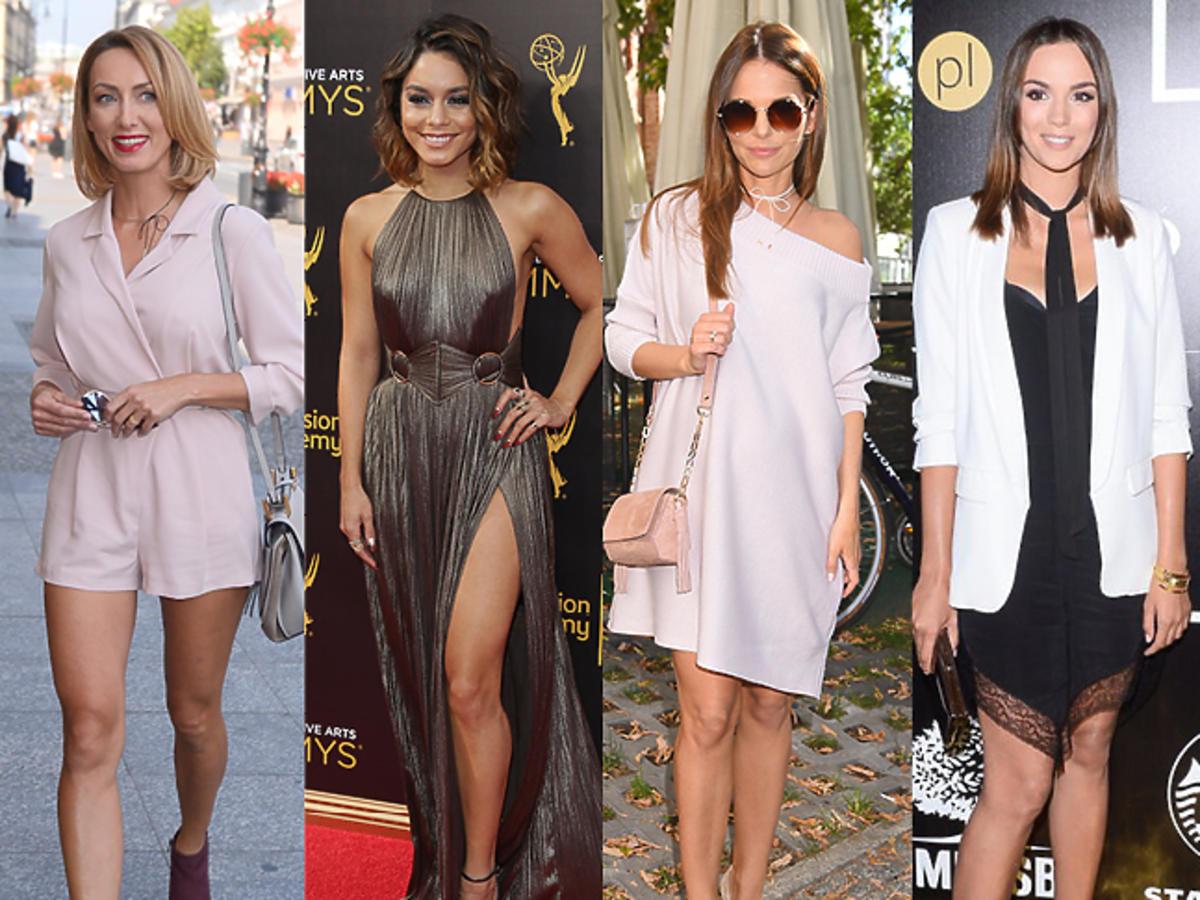 Anna Kalczyńska, Vanessa Hudgens, Paulina Sykut, Paulina Krupińska, Heidi Klum w pięknych stylizacjach