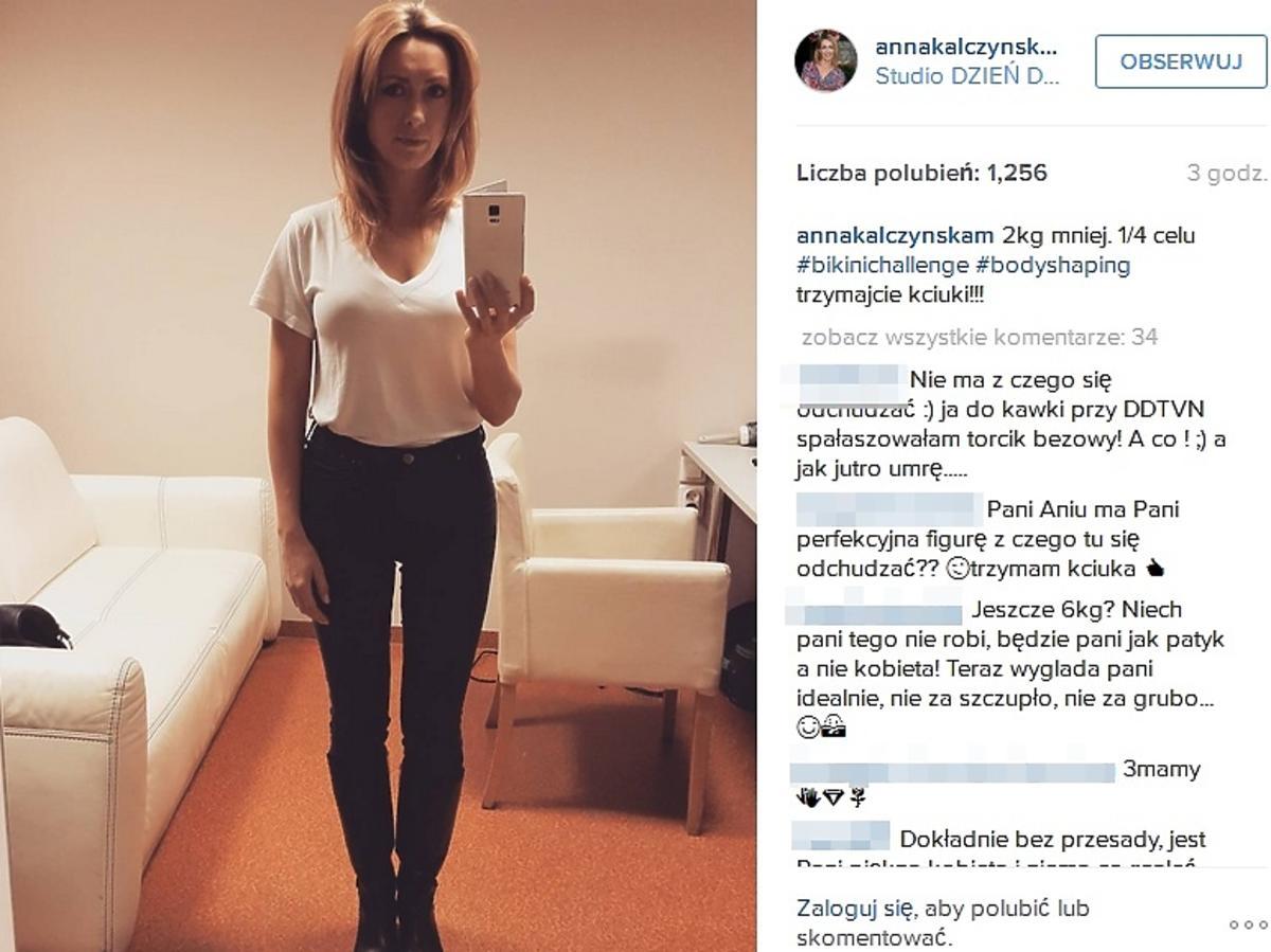 Anna Kalczyńska schudła