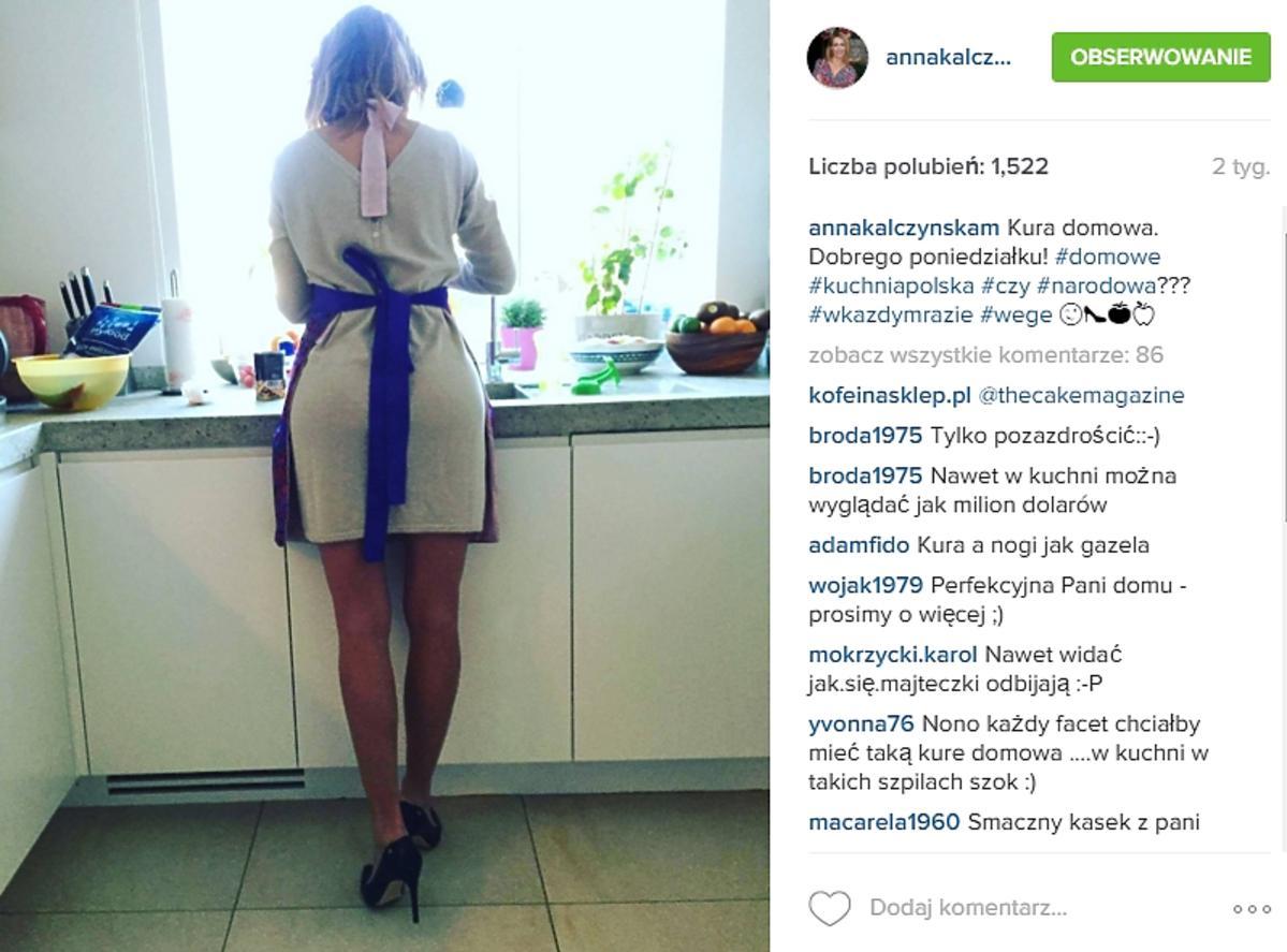 Anna Kalczyńska w szpilkach