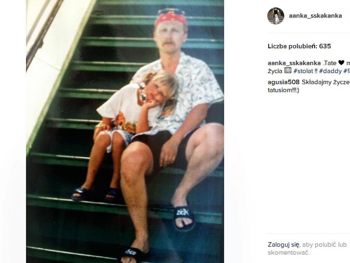 Anna Karczmarczyk pokazała swojego tatę