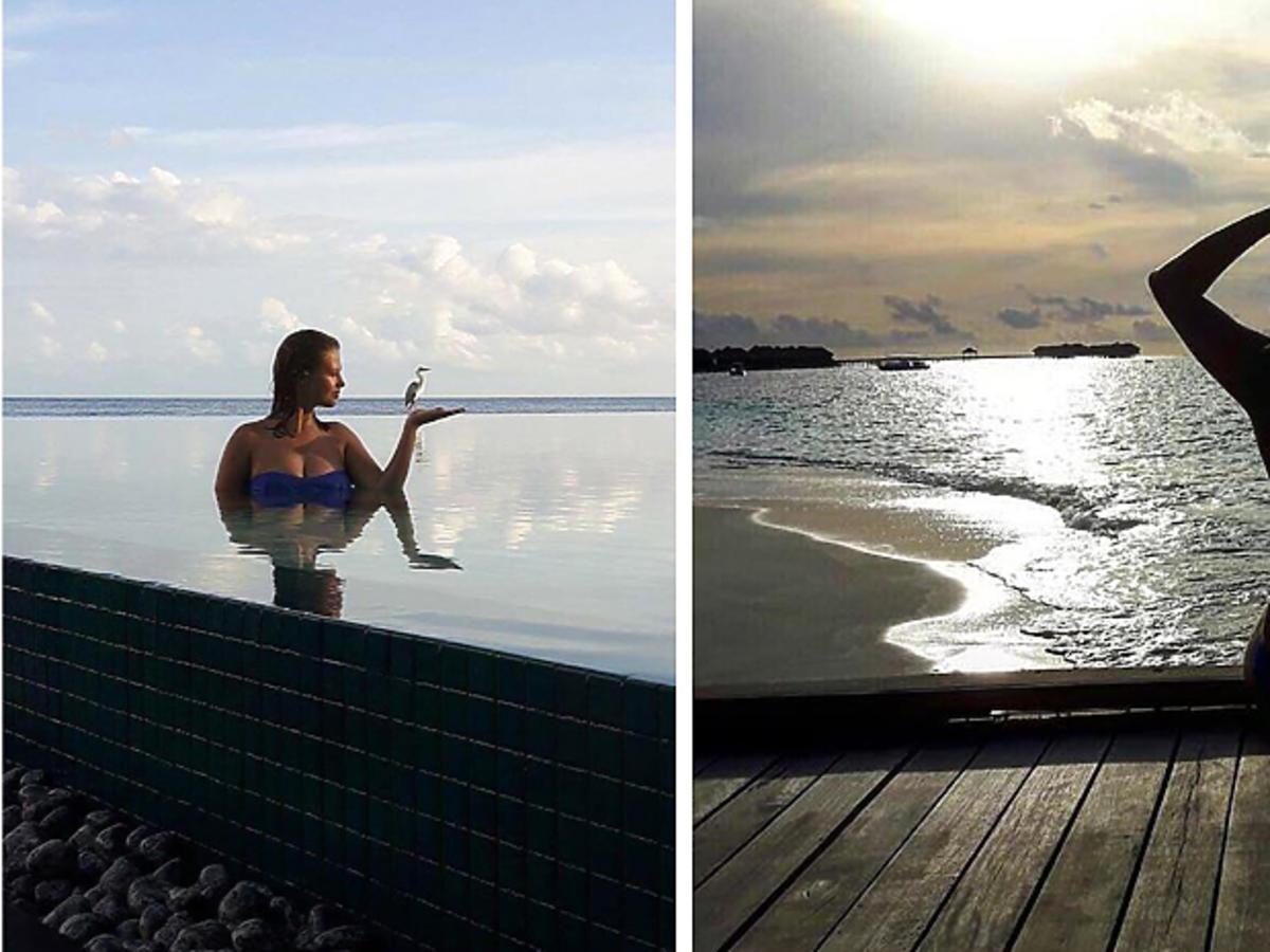 Anna Karczmarczyk spędza wakacje na Malediwach