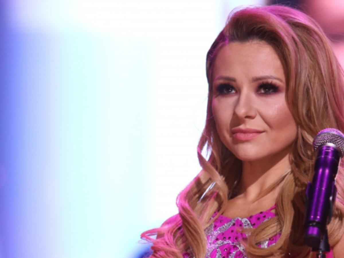 Anna Karwan w różowej sukience w Tańcu z Gwiazdami