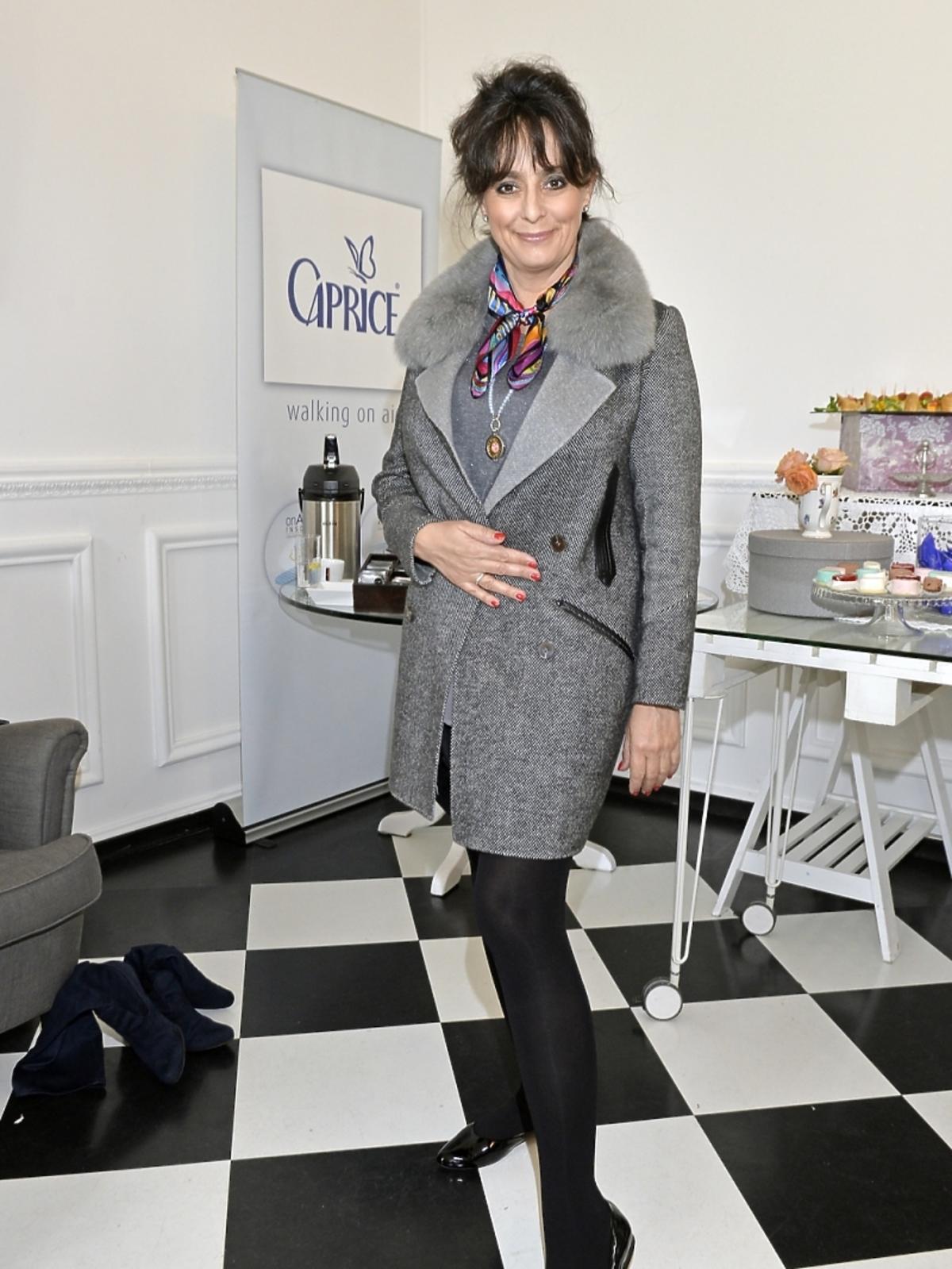 Anna Korcz na dniu otwartym marki Caprice